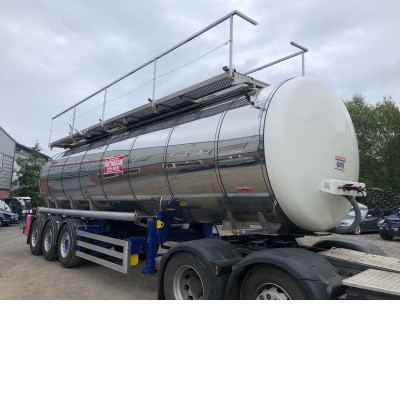 Food & Chemical Tankers Trailers For Sale - Rothdean