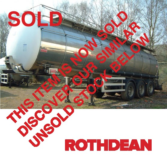 2004 Rothdean G P in Food & Chemical Tankers Trailers - Rothdean