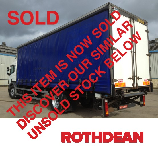 2008 SCANIA P230 in Curtain Siders Rigid Vehicles - Rothdean