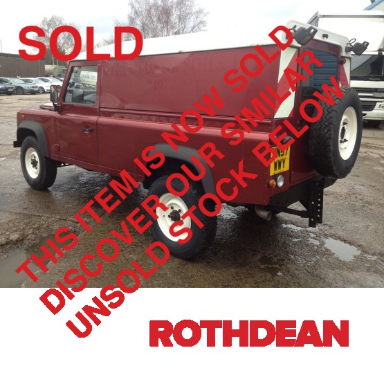 2007 Land Rover For Sale: 2007 LAND ROVER 110 2.5 TDI LWB In Cars And Light Vans