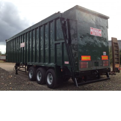 Ejector Amp Moving Floor Trailers For Sale Rothdean